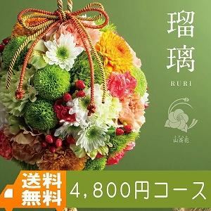 【送料無料】AYL 瑠璃 山茶花