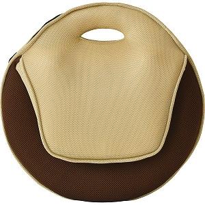 送料込み/直送】持ち運びしやすい折りたたみ座椅子4個組 ブラウン ...